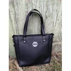 Malá kabelka MANA MANA Minimalistická Černá/Černá