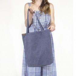 Velká kabelka HAIROO Simply Shopper Modrá