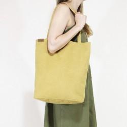 Velká kabelka HAIROO Simply Shopper Žlutá