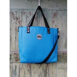 Malá kabelka MANA MANA Minimalistická Modrá/Černá