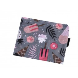Skládací nákupní taška Béžový květ