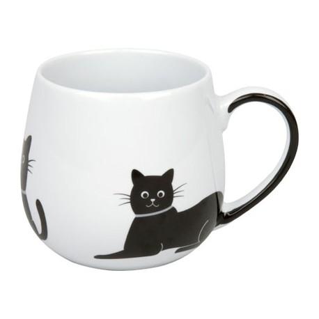 Hrnek Kočka se šedým obojkem