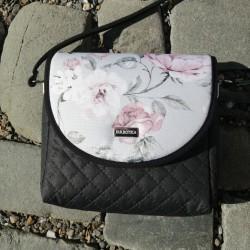 Malá kabelka FARBOTKA PURO MINI Černá/Růže
