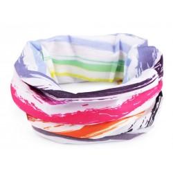 Multifunkční šátek / rouška / nákrčník Zelená maskáčová