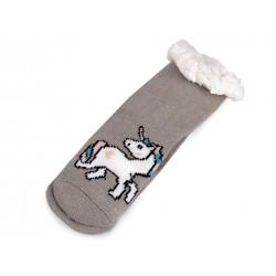 Ponožky Jednorožec dětské - vel. 26-28