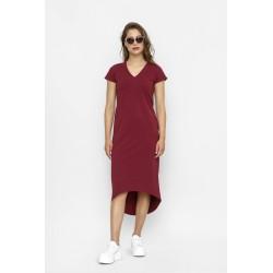 Šaty SOFIE Červená Vínová
