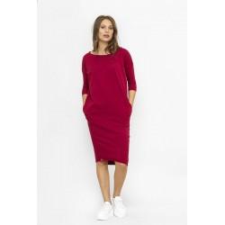 Šaty IDA Vínová červená