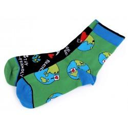 Ponožky Svět - vel. 43-36