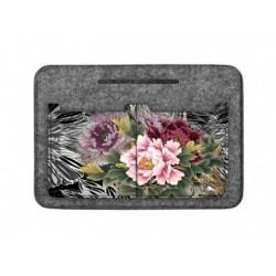 Organizér do kabelky Květy