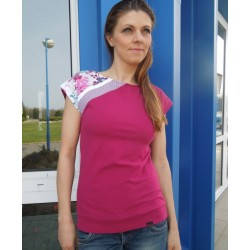Tričko Tina burgundy