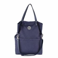 Velká kabelka MANA MANA Modrá/Růžová