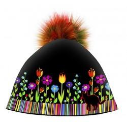 Zimní čepice dámská - Folk