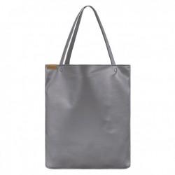 Velká kabelka COCOONO Simply Shopper Šedostříbrná