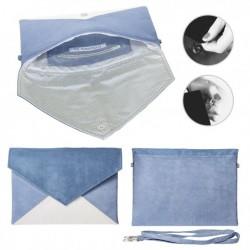 Psaníčko Cocoono Modrá/Krémová