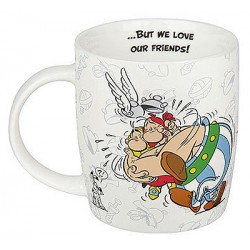 Hrnek Asterix ... but we love our friends!