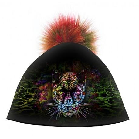 Zimní čepice dámská - Black Panter