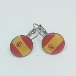 Náušnice Španělsko vlajka