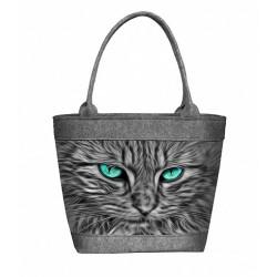 Kabelka stylová Kočka Baltazar