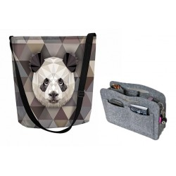 Panda Funky set (kabelka + organizér)