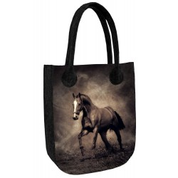 Eco kabelka Kůň Karino - antracit