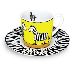 Hrnek Zebra - espresso