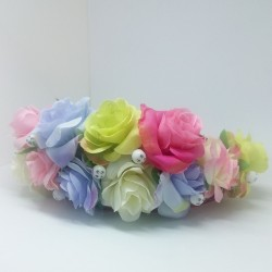 Květinová korunka - čelenka