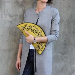 Eco kabelka FELT LABEL Úžasná krajka Žlutá