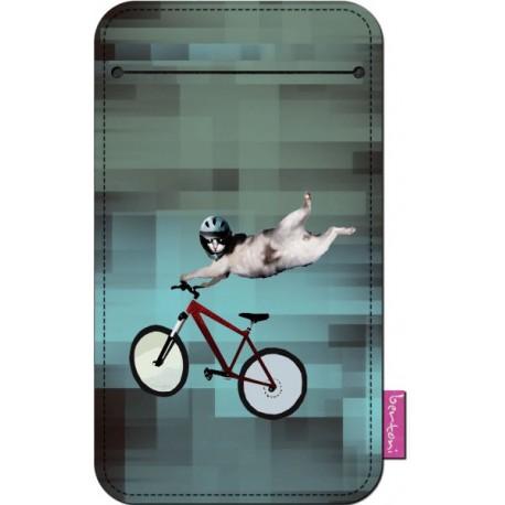 Obal na mobil Kočka Freeride