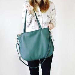 Velká Pacco HAIROO kabelka Zelená