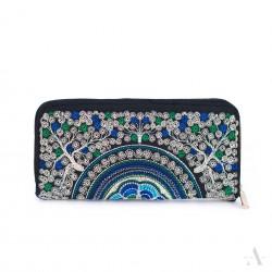 Dámská peněženka Barvy - Modrá