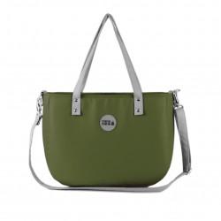 Malá kabelka Ruby MANA MANA Zelená/Šedá