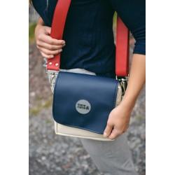 Malá kabelka MANA MANA Béžová/Modrá
