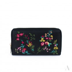 Dámská peněženka Flores Tmavošedá