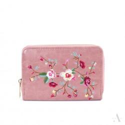 Dámská peněženka Flowers Růžová