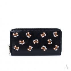 Dámská peněženka Lišky Černá