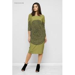 Šaty Rozeta Zelená