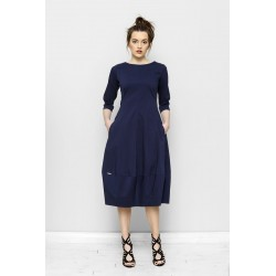 Šaty Vera Modrá